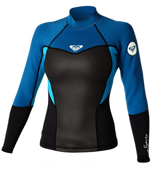 Roxy SYNCRO 1.5MM LONG SLEEVE JACKET - SA149WF-TUR