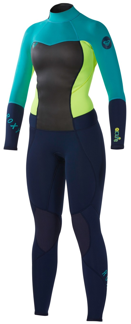 Roxy Syncro Wetsuit Women's 3/2mm GBS (Sealed Seams) Wetsuit Super Stretch
