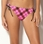 Roxy Teen Spirit 70's Lowrider Tie Side Bikini Bottom - 608053-PNK