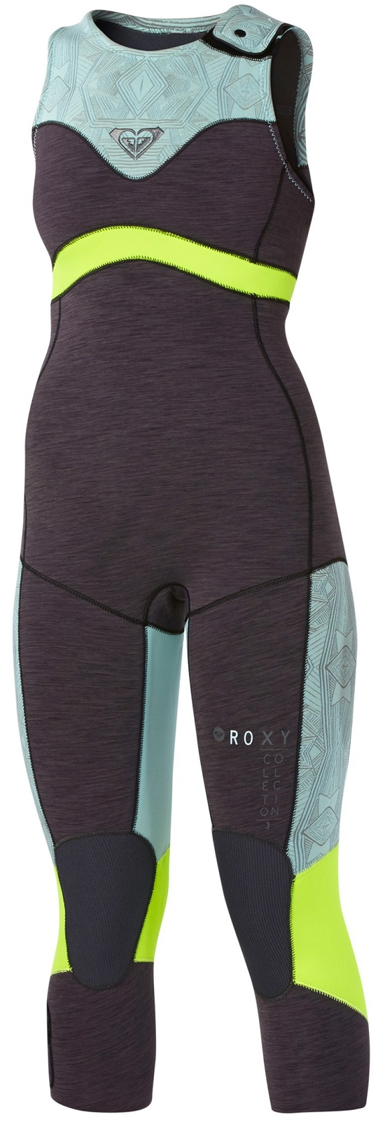 Roxy XY Women's Wetsuit Long John 3mm Sleeveless - Graphite/Blue