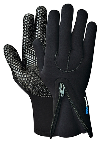 H2Odyssey Ultrazip Glove 3mm Therma Grip Neoprene Glove - GK2