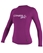 O'Neill Women's Long Sleeve Rashguard 50+ UV Protection - Fox Pink - 3549-173