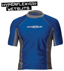 Hyperflex LOOSE FIT MEN'S SHORT SLEEVE RASH GUARD 30+ - x110un-44