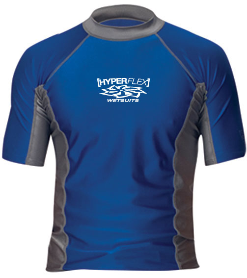 Hyperflex LOOSE FIT MEN'S SHORT SLEEVE RASH GUARD 30+