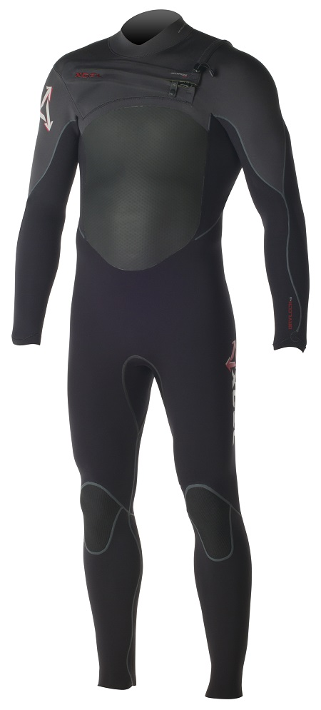 Xcel Men's Drylock 4/3mm Wetsuit Chest Zip