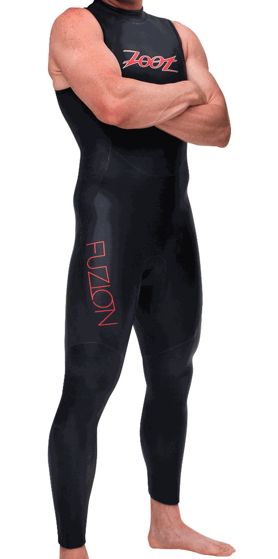 ZOOT Fuzion SL Sleeveless Mens Wetsuit VIDEO!