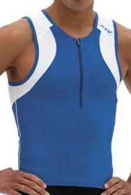 Zoot Men's Endurance Tri Tank - Blue