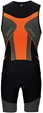 Zoot Men's Performance Tri Racesuit - Black/Blaze - Z1306032B