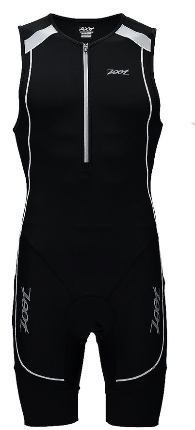 Zoot Men's Performance Tri Racesuit - Black/White -