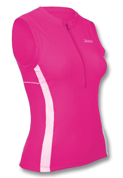 Zoot Women's Endurance Tri Top - Pink