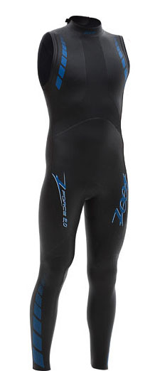ZOOT Z Force 2.0 SL Sleeveless Mens Wetsuit 5/4/3mm - Z0721753