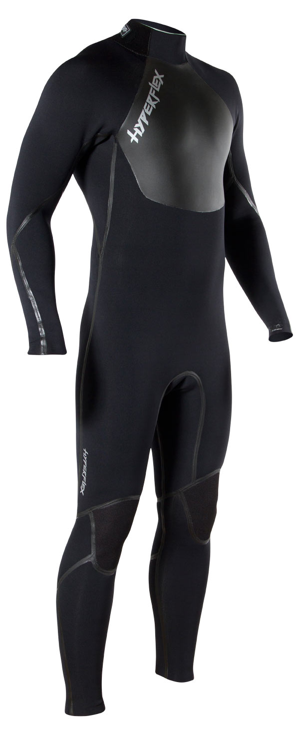 Men's Hyperflex VOODOO 4/3mm Back Zip Fullsuit