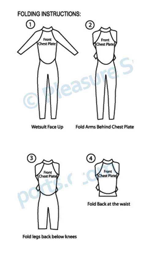 Folding Your Wetsuit & Storing