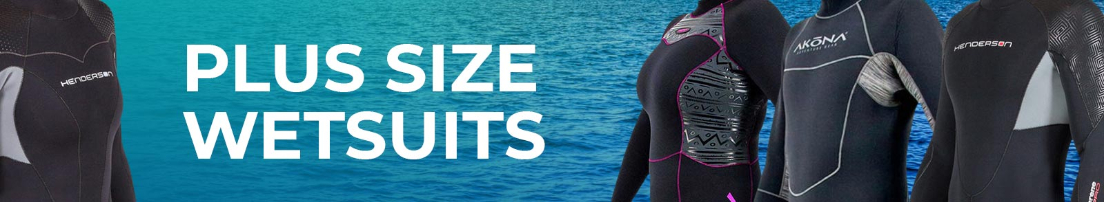 Plus Size Wetsuits for Women - Big and Tall Wetsuits for Men