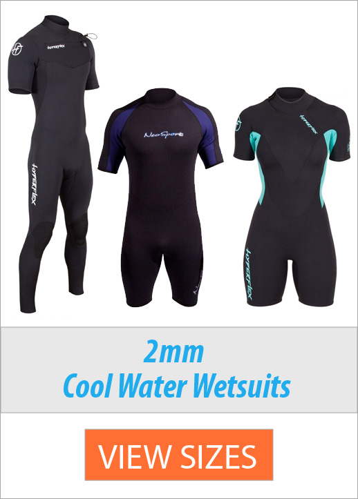 Affordable Wetsuits for swimming 2mm