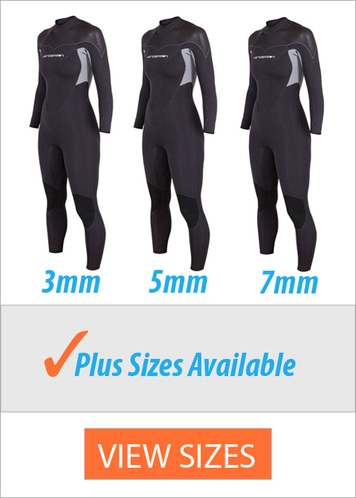 Women's plus size wetsuit - henderson thermoprene pro