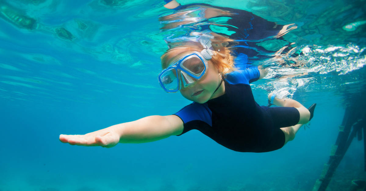 Wetsuits for Juniors, Children and Toddlers