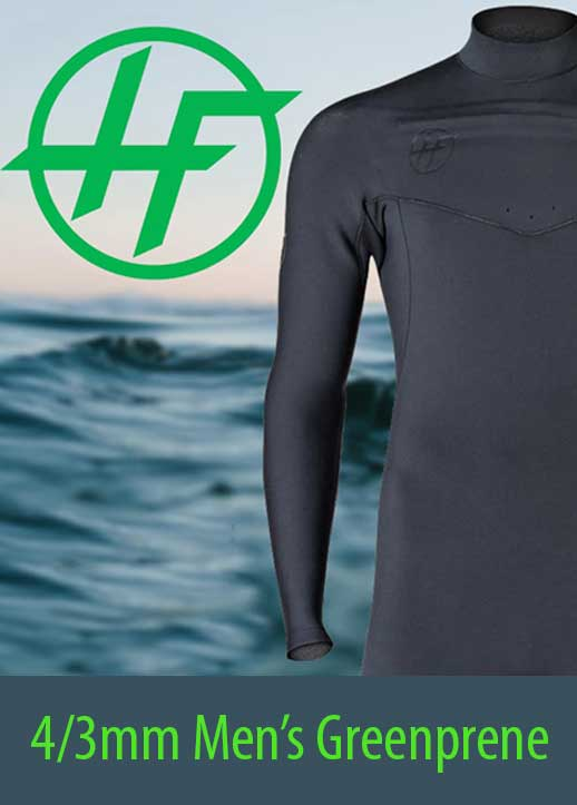 Men's 4/3mm Hyperflex Greenprene Wetsuit