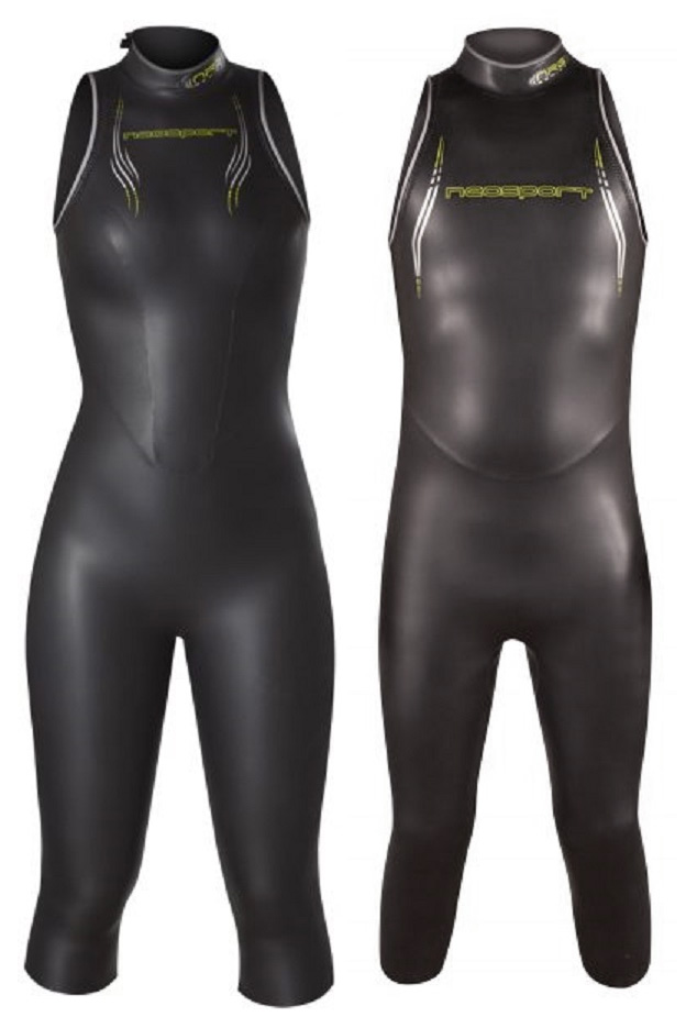 Sleeveless Triathlon Wetsuit for Swimming
