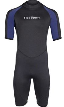 2mm NeoSport Mens Shorty Wetsuit