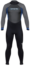 3/2mm Men's Hyperflex ACCESS Wetsuit - Black/Blue