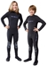 3mm Junior's NeoSport Back Zip Fullsuit - Black - S830JB-01