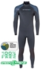 3mm Men's Henderson Greenprene Wetsuit- ECO Friendly - Back Zip