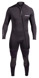 3mm Men's NeoSport Waterman 2 Piece Wetsuit Combo John & Jacket