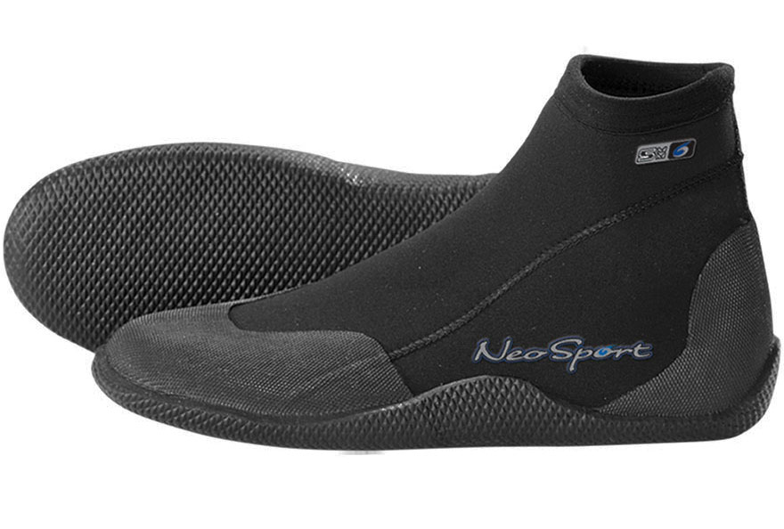 3mm NeoSport Low Top Boots