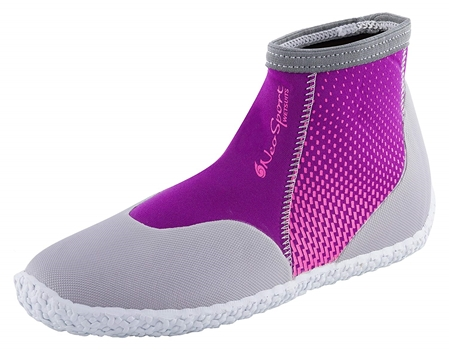 3mm NeoSport Womens Low Top Boots - Berry -