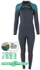 3mm Women's Henderson Greenprene Wetsuit - ECO Friendly - Back Zip