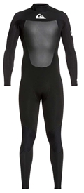 4/3mm Men's Quiksilver Syncro GBS Wetsuit - Back Zip - LATEST MODEL