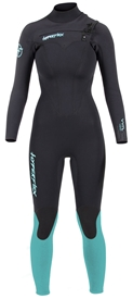 4/3mm Women's Hyperflex VYRL Wetsuit - Chest Zip