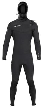 4mm Hyperflex VYRL Wetsuit Hooded - Chest Zip