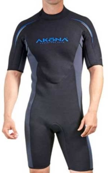 Mens Akona 3mm Springsuit Shorty