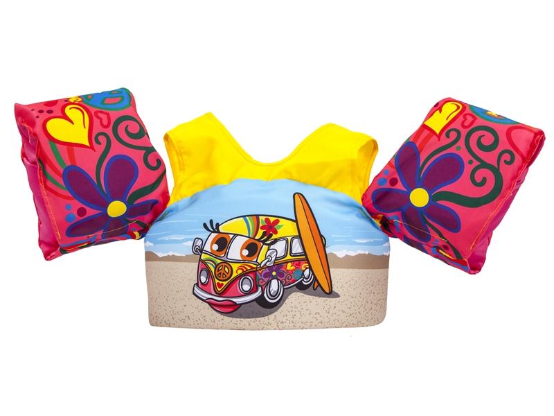 Body Glove Paddle Pals Child's Swim Life Vest - Surf Van