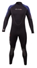 7mm Men's Henderson Thermoprene Wetsuit Jumpsuit - Blue & Black - BIG & TALL SIZES -