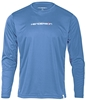 Henderson Hotskins Men's Long Sleeve Watershirt Rashguard - 50+ UV Protection - Blue