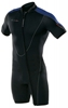 3mm Men's Henderson Thermoprene Front Zip Shorty- Big & Tall Sizes Available -