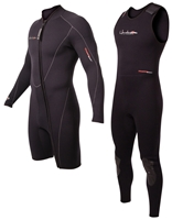 7mm Men's Henderson Thermoprene 2-Piece Wetsuit Combo - Front Zip