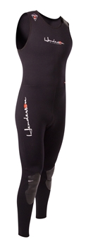 7mm Mens Henderson Thermoprene Long John Wetsuit / Fullsuit - Combo Bottom -