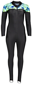 Henderson Unisex Pattern Lycra Hotskin Skinsuit Men's / Women's - Tropic Black