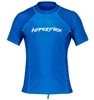 Hyperflex Men's Sport Fit Short Sleeve 50+ UV Protection Rashguard - Blue