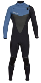 3/2mm Men's Hyperflex VOODOO Chest Zip Wetsuit / Fullsuit - Blue