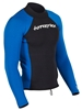1.5mm Men's Hyperflex VYRL Surf Jacket Neoprene Top - Black/Blue