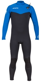 4/3mm Men's Hyperflex VYRL Wetsuit Fullsuit - Chest Zip
