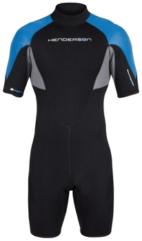 3mm Mens Henderson Thermoprene Pro Shorty Springsuit - PLUS SIZES