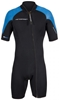 3mm Men's Henderson Thermoprene Pro Front Zip Springsuit Shorty - PLUS SIZES