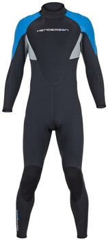 7mm Mens Henderson Thermoprene Pro Back Zip Wetsuit / Fullsuit - PLUS SIZES