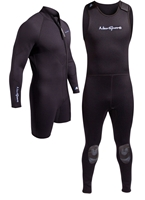 3mm NeoSport Men's 2-piece Wetsuit Combo Long John and Jacket Diving